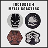 Paladone Call of Duty Premium Metal Drink Coasters