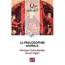 La philosophie morale: « Que sais-je ? » n° 3696
