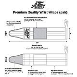 Women's Wrist Wraps - Pair of Adjustable Wrist