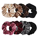 Ondder Velvet Scrunchies Hair Scrunchy Elastics