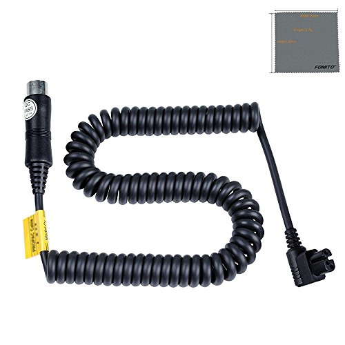 Fomito Godox PB SX PB960 PB820 Lithium Battery Pack Power Cable for Sony HVL-F58AM, HVL-F56AM Flash Speedlight