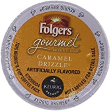 FOLGERS CARAMEL DRIZZLE K CUP COFFEE 48 COUNT by Folgers