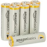 AmazonBasics AA Performance Alkaline Batteries (8-Pack) - Packaging May Vary