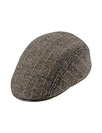 Warm Wool Blend Petersham Ivy League Flat Cap