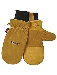 Kinco 901T Heatkeep Thermal Lining Premium Pigskin Leather Mitt, Work, Gloves