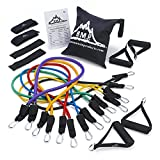 Black Mountain Ultimate Resistance Band Set with Starter Guide
