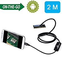 BlueFire® 7mm Android Endoscope IP67 Waterproof USB Inspection Snake Tube Camera 2M Cable for Samsung Galaxy S5 S6 Note 2 3 4 5