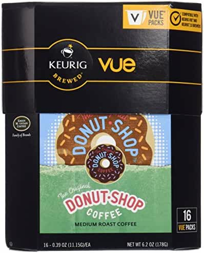 The Original Donut Shop Coffee for Keurig Vue 16 count (2 pack)