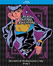 JoJo's Bizarre Adventure Set 4: Diamond Is Unbreakable Part 1 (Limited Edition) (BD) [Blu-