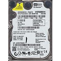WD2500BEVS-75UST0 Western Digital 250GB 5400RPM SATA 1.5 Gbps 2.5 inch Scorpio Hard Drive