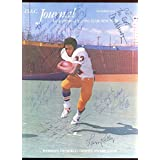 1976 Heisman Trophy DAC Program Autographed to Janowicz 7 Signatures Hologram - College Programs
