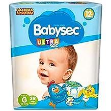 Fralda Babysec Galinha Pintadinha Ultrasec G 38 Unids, Babysec, G