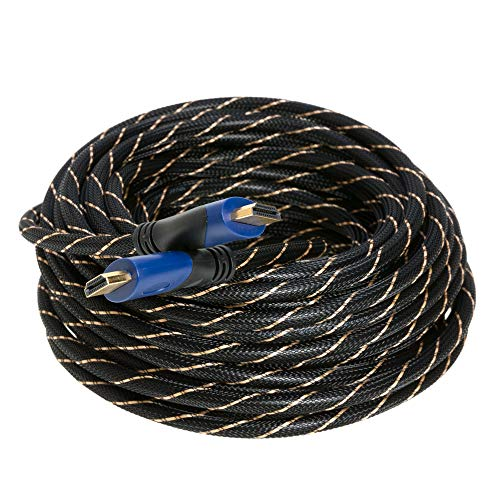 50FT HDMI CABLE 1.4 1080P ETHERNET BLURAY 3D TV DVD PS3 HDTV XBOX LCD LED SALE