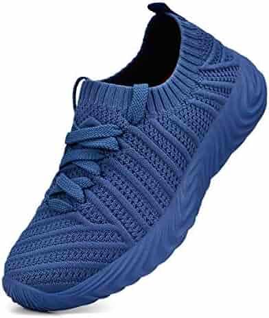 5c36a0460ed398 QANSI Kids Sneakers Boys Girls Walking Tennis Running Ultra Lightweight  Shoes