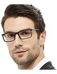 Mens Rectangular/Square Fashion Acetate Eyewear Frame...