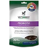 Veterinarian's Best 30 Count Probiotic Soft Chews Supplement for Dogs