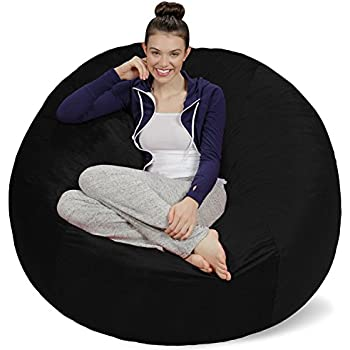 sofa sack bean bags bag chair feet black kids room decor design for two furniture