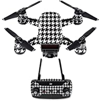 Skin for DJI Spark Mini Drone Combo - Houndstooth| MightySkins Protective, Durable, and Unique Vinyl Decal wrap cover | Easy To Apply, Remove, and Change Styles | Made in the USA