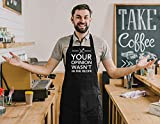 Homsolver Funny Cooking Aprons for Men - Your