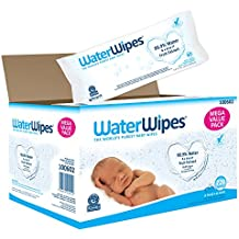 WaterWipes Sensitive Baby Wipes, 720 Count (12 Packs of 60 Count)