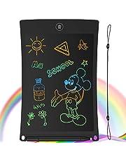 """GUYUCOM LCD schrijftablet, 8.5"""" Doodle & Scribble Boards Draagbare uitwisbare schrijftablet voor kinderen volwassenen met vergrendelingsfunctie voor schilderen tekenen en memolijsten (zwart)"""
