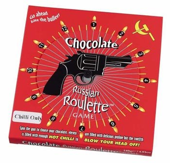 Russian roulette chocolate usa casino nrw duisburg