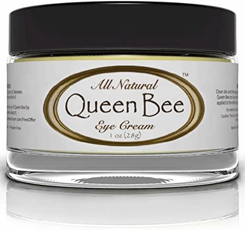 Queen Bee Organic Under Eye Cream, 1 Ounce