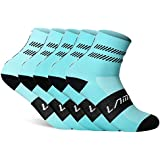 INBIKE 5 Pack Sports Socks Unisex Performance Crew Sock for Running,Cycling,Basketball,Hiking