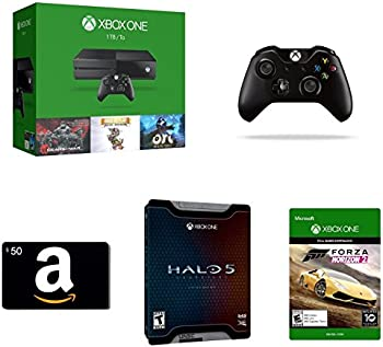 Xbox One 1TB Console 3 Games Bundle Controller