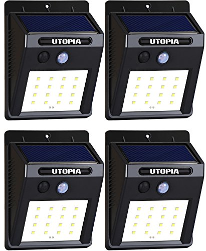 Utopia Home - 16 LED Wireless, Waterproof and...