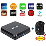 M8S+ M8S Plus TV Box XingYa® Fully Loaded KODI Quad Core Android 5.1 Smart Set Top + Free Wireless Keyboard