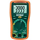 Extech EX330 Autoranging Mini Multi-Meter with Built In Thermometer with Type K Remote Probe