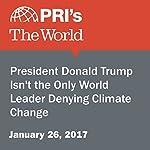 President Donald Trump Isn't the Only World Leader Denying Climate Change | Sarah Birnbaum