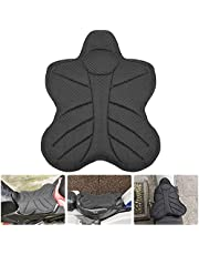 Motorcycle Seat Cushion, Seat Cushion Nonslip Cooling Down Seat Pad, Air Motorcycle Seat Cushion, Pressure Relief Motorcycle Cushion for Sport