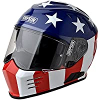 Simpson - Ghost Bandit Glory Helmet (Limited Edition) color:Patriot size:M
