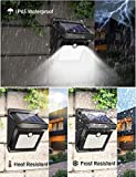 28 LEDs Solar Lights Outdoor, Luposwiten Solar