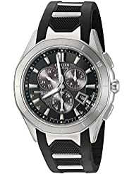 Citizen Mens Eco-Drive Signature Perpetual Calendar Chronograph Watch, BL5460-00E