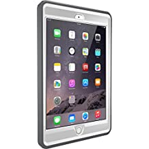 OtterBox DEFENDER SERIES Case for iPad Mini 1/2/3 - Retail Packaging - GLACIER (WHITE/GUNMETAL GREY)