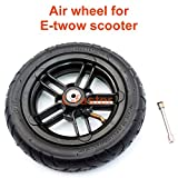 """200x35 Pneumatic Tyre Use Nylon Hub Fit M8 or M6 Axle 8"""" Air Wheel For Electric Scooter Replacement 8 Inch Inflatable Wheel Tube"""