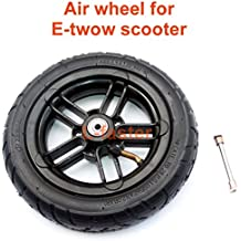 """8 Inch Inflated Wheel For E-twow S2 Scooter M6 Pneumatic Wheel With Inner Tube 8"""" Scooter Wheelchair Air Wheel Can Loading 100Kg (M6)"""