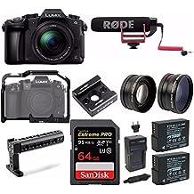Panasonic LUMIX DMC-G85MK 4K Mirrorless Lens Camera Bundle (Video Cage Bundle)