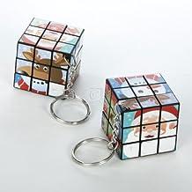 Rubiks Cube Christmas Key Chain.