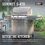 Weber Summit S-470 Propane Gas Grill Stainless Steel