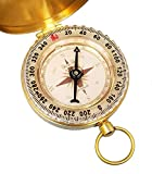 Personalized Pocket Compass Engraved Joshua 1:9