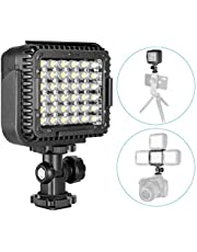 Neewer CN-LUX360 3200K-5600K Lámpara Regulable de Luz de Video LED para Canon Nikon Cámara DV Videocámara