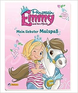 Prinzessin Emmy Mein Liebster Malspass Amazon De Bucher
