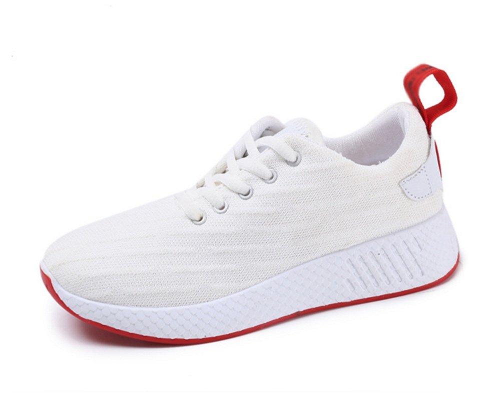 XIE Zapatos de Mujer de Gran Tamaño Pareja de Ocio de Viaje Salvaje Blanco Transpirable Zapatillas de Deporte de Verano de Las Mujeres Zapatos 35-39, White, 35 35 white