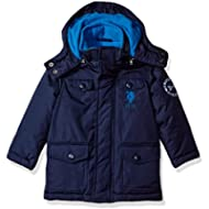 US Polo Association Toddler Boys' Outerwear Jacket (More Styles Available), UB49-Parka-Classic...