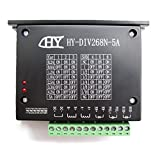 Puuli HY-DIV268N-5A CNC Single Axis TB6600 0.2 - 5A Two Phase Hybrid Stepper Motor Driver Controller