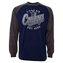 Dallas Cowboys Rounder Raglan Long Sleeve Jersey T-Shirt